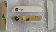 Weiß White Cover Backcover Rückschale Glas oben unten Top Bottom für iPhone 5