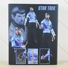 Mezco Toys Star Trek Exclusive 12 Mirror Mirror Spock Evil Figure NEW
