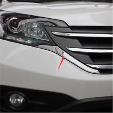 For Honda CRV CR-V 2012 2013 2014 Chrome Front Center Grille Strip Cover Trim