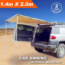 1.4MX2M 4X4 CAR SIDE AWNING ROOF TOP TENT CAMPER TRAILER 4WD CAMPING