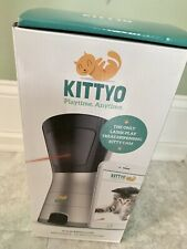 $249 KITTYO Treat Dispenser Cat Pet Camera/2Way Audio/Toy Laser  **Discontinued*