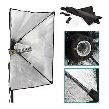 Softbox Umbrella 50x70cm + E27 Light Bulb Head For Studio Continuous Lighting