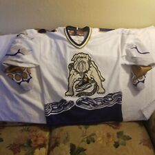 LONG BEACH ICE DOGS HOCKEY JERSEY - YOUTH L/XL - THROWBACK -SP