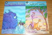 Grootlore #1-2 VF/NM complete series - fantagraphics - peter gullerud set lot