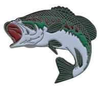 Large Mouth Bass Hat Or Lapel Pin  PPMSP174D199k