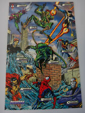 Marvel Cards 1994 Amazing Spider-Man Masterprints Enemies IV Mark Bagley - NEW