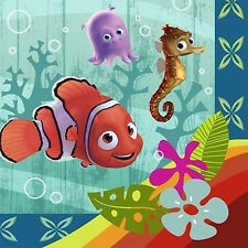 FINDING NEMO Coral Reef LUNCH NAPKINS (16) ~ Birthday Party Supplies Serviettes