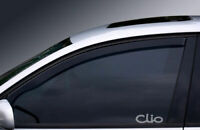RENAULT CLIO WINDOW ETCHED GLASS VINYL DECALS-STICKERS X2 – 7YR VINYL – CAR MOD