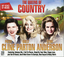 MY KIND OF MUSIC - THE QUEENS OF COUNTRY - 2 CD BOX SET, PATSY CLINE & MORE
