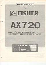 FISHER Service Manual Anleitung AX720  B1460