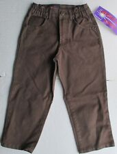 New Brown pants by designer Speed of Light strong sturdy 100% cotton 3/4 year
