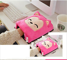 Pink Winter Usb Hand Warm Mouse Pad Heated Mousepad Laptop Gaming Mousepad