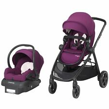 Maxi Cosi Zelia Travel System Violet Caspia- Stroller & Mico 30 Car Seat New!!