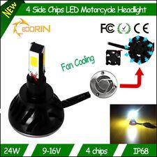 NOUVEAU 2015 - KIT H6 BI XENON A LED - COULEUR XENON 6000K - 24W / 18W