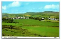 Vintage Picture Postcard Selkirk from the Golf Course Scotland