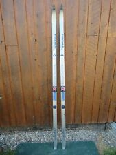 """Ready to Use Cross Country 73"""" Long FISCHER 190 cm Skis with SALOMON Bindings"""