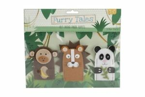 Furry Tales Finger Puppets Circus, Farm and Safari Buy 1 get 2 free