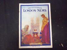 1937 MAY 15 THE ILLUSTRATED LONDON NEWS MAGAZINE - CORONATION CEREMONY - ST 4162