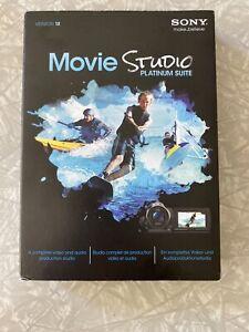 SONY Movie Studio Platinum Suite Version 12. Windows Video Audio Production