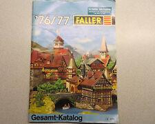 Faller Modellismo Catalogo 1976/77