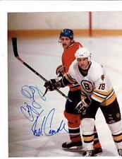 Craig Ludwig and Keith Crowder Signed 8x10 Photo Autographed Hockey