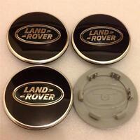 New Range Rover Sport Vogue Evoque Alloy Wheel Centre Caps Set(4)Black & Green