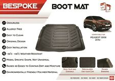 PEUGEOT 3008 2016+ Tailored Rubber Boot Liner Fitted Mat Dog Tray