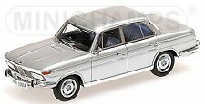 BMW 2000 a limousine New Class Type 121 1966-72 1:43 Silver Silver Metallic
