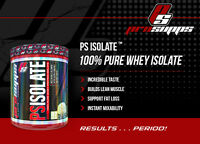 Pro Supps PSIsolate Whey Protein Zero Carb Zero Fat 2lbs 36 servings PICK FLAVOR