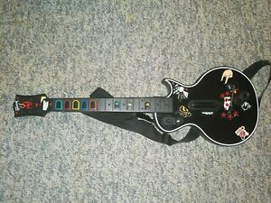 Xbox 360 Guitar Hero Wireless Black Gibson Les Paul Guitar Controller