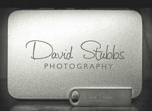 Customized Photography Silver Metal mini USB 2.0 Flash Drive + Tin Box 16GB 32GB