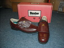 NEW IN BOX VINTAGE DEXTER GOLF GLENEAGLE SHOES SIZE 8