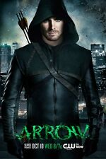 Arrow poster print - Stephen Amell Poster - 11 x 17 inches (style a)