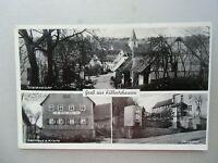 Ansichtskarte Kälbertshausen 1963 Totalansicht Gasthaus Krone Denkmal
