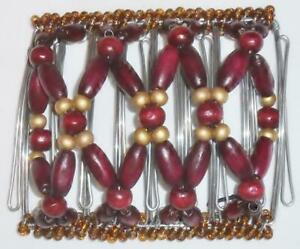 """Angel Wings Hair Clip 4x3"""", Bobby Pin Design, Double Comb, Handmade, US Seller"""
