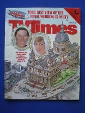July TV Times Magazines