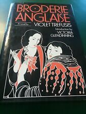 Broderie Anglaise by Violet K. Trefusis (1985, Hardcover) 1st Edition NFS JB5