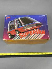 Vintage Testors 1/25 scale Barris SuperVan Model Kit Rare Partially Built