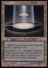 MTG 4x CABAL PIT - Odyssey *Land Threshold DEUTSCH*