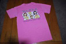 Alpha Delta Pi Epsilon Kappa Chapter Ladies Tee Shirt Size Small EUC