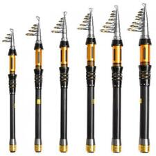Surf Telescopic Spinning Fishing Rod Carbon Fiber Travel Fishing Rod 6 Sizes