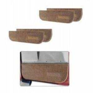 Lund 120108 Pro-Line Lower Door Panel Carpet, For 73-74 Chevrolet C10 Pickup NEW