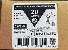 Murray MP120AFC 20-Amp 1 Pole 120-V Arc Fault Circuit Interrupter