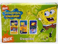SpongeBob Schwammkopf Kinder Domino Karten 21 Dominokarten Nick