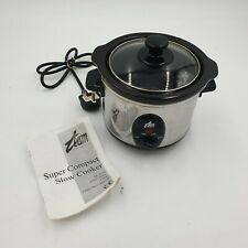 TEAM SUPER CONTACT SLOW COOKER USED GOOD CONDITION (HC)
