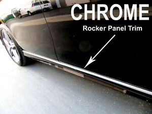 2002-2018 Chrysler Chrome SIDE ROCKER PANEL Trim Molding Kit 2PC