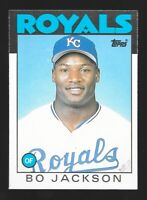 1986 Topps Traded BO JACKSON Rookie RC #50T