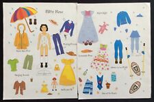 Hitty Rose Paper Doll by Julie DeGroat, Mag. Pd. 2013