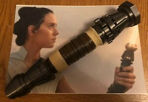 1:1 Scale - 3D Printed Rey's Lightsaber Hilt Cosplay/Prop/Collectable