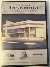 Virtual Insomnia Treatment Center CD-Rom Program Medical Education CommGenix
